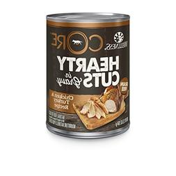 Wellness CORE Hearty Cuts Natural Wet Grain Free Canned Dog