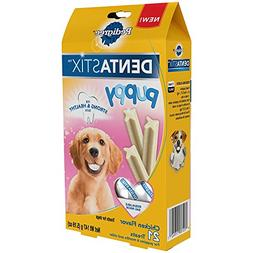 "Pedigree Dentastix ""Puppy"" Chicken Flavor 21 Treats"