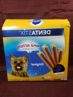 Pedigree Dentastix Small Toy Size Dog Treats 84 Count Cleans