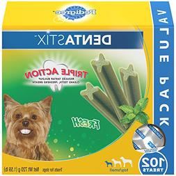 PEDIGREE DENTASTIX Toy/Small Dental Dog Treats Fresh, 12.7 o