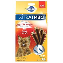 Pedigree DENTASTIX Triple Action Beef Flavor Treats Toy/Smal
