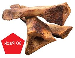 Lilly's Choice Dog Bones with Bone Marrow - Made in USA - Na