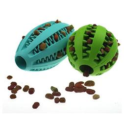 Petdom Dog Chew Toys for Molar, Non-Toxic Indestructible Rub