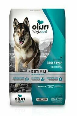 Nulo Puppy & Adult Freestyle Limited Plus Grain Free Dry Dog