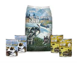 Taste of the Wild Dog-Food Pacific Stream Puppy Food Grain F