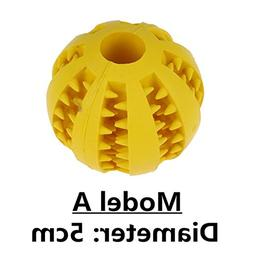 CHOUWUED Dog Toy Interactive Rubber Balls Pet Dog Cat Puppy
