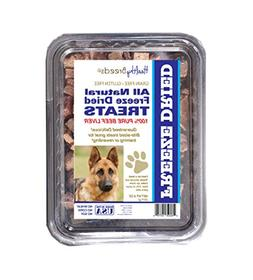 Healthy Breeds Dog Treats Natural Beef Freeze Dried for Germ