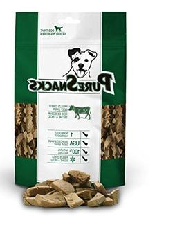 Pure Snacks Dog Treats Freeze Dried Beef Liver 100% Natural