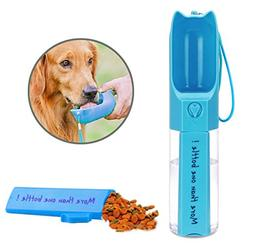 Dog Travel Water Bottle, Leak Proof Portable Puppy Water Dis