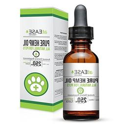 Hemp Oil for Dogs, Cats and Pets - Organic Hemp Oil for Dog