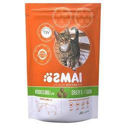 Iams Adult Dry Cat Food Lamb 800g