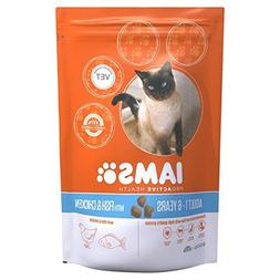 Iams Adult Dry Cat Food Ocean Fish 800g
