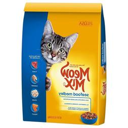 Meow Mix Dry Cat Food Seafood Medley 14.2-Pound Free Shippin