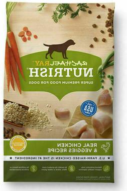 Rachael Ray Nutrish Natural Dry Dog Food, Real Chicken & Veg