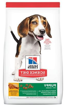 Dry Dog Food, Puppy, Hill's Science Diet Chicken Meal & Barl