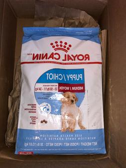 Royal Canin Dry Puppy Food for Medium Dogs - 30lb