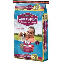 Essential Vitamins & Minerals Purina Puppy Chow Tender and C