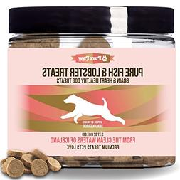 Pure Paw Pure Fish & Lobster Treats, Brain & Heart Healthy D