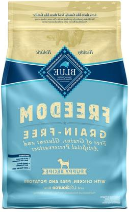 Blue Buffalo Freedom Grain Free Natural Puppy Dry Dog Food,