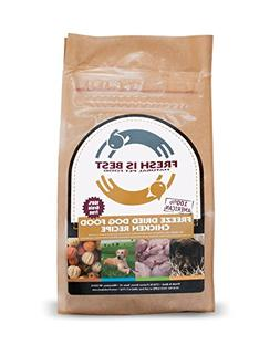 Fresh is Best Freeze-Dried Dog Food, Chicken Recipe