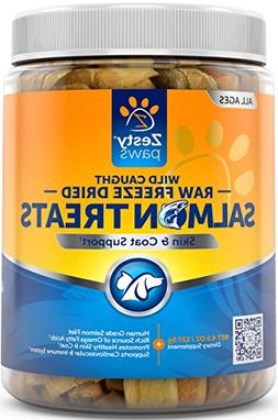 Freeze Dried Salmon Filet Treats for Dogs & Cats - With Pure