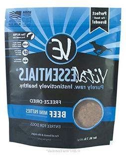Vital Essentials Freeze-Dried Beef Mini Patties Grain Free L