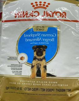 Royal Canin GERMAN SHEPHERD PUPPY Breed Nutrition Dry Dog Fo