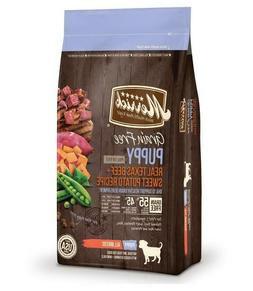 Merrick Grain Free Beef & Sweet Potato Dry Dog Food, 4 lbs.