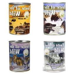 Taste of the Wild Grain-Free Canned Dog Food Variety Pack -
