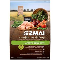 IAMS GRAIN-FREE NATURALS Adult Chicken and Pea Recipe Dry Do