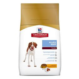 Hill's Science Diet Adult Grain Free Dog Food, Chicken & Pot