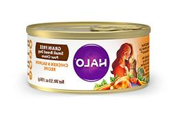 Halo Grain Free Natural Wet Dog Food, Small Breed Chicken &