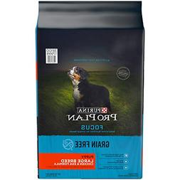 Purina Pro Plan Grain Free Large Breed Dry Puppy Food, Focus