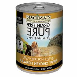 CANIDAE Grain Free PURE Puppy Wet Food Chicken Formula, 13 o