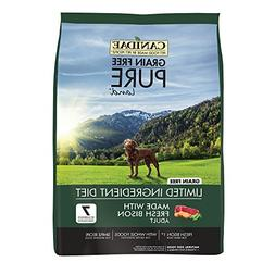 CANIDAE Grain Free PURE Land Dog Dry Formula with Fresh Biso