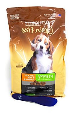 Authority Grain Free Puppy Dry Dog Food - Chicken & Pea, 5lb