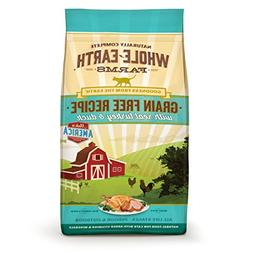 Whole Earth Farms Grain Free Recipe Dry Cat Food, Turkey and