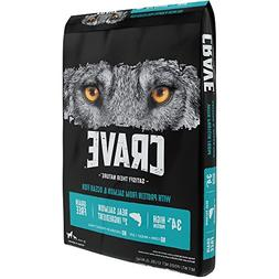 CRAVE Grain Free with Protein from Salmon and Ocean Fish Dry