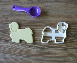 Havanese Cookie Cutter Dog Pup Pet Treat puppy Pupcake toppe