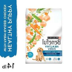 Purina Beneful Healthy Puppy With Farm-Raised Chicken, High