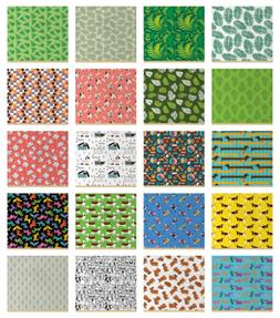 Ambesonne Indoor Outdoor Fabric by the Yard Upholstery Home