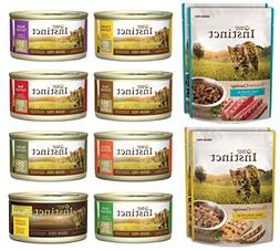 Nature's Variety Instinct 12 Pack Sampler Box - 8 Total Cans
