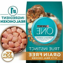 Purina ONE True Instinct Natural Grain Free With Real Chicke