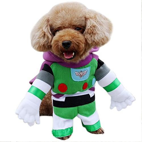 Alfie Pet by Petoga Couture - Buzz Space Ranger Costume - Co