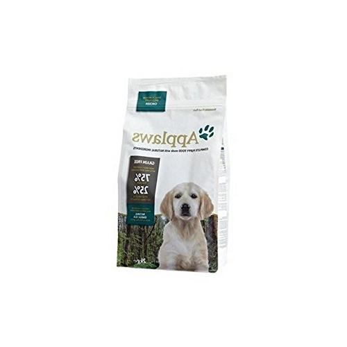 dry puppy food chicken breed