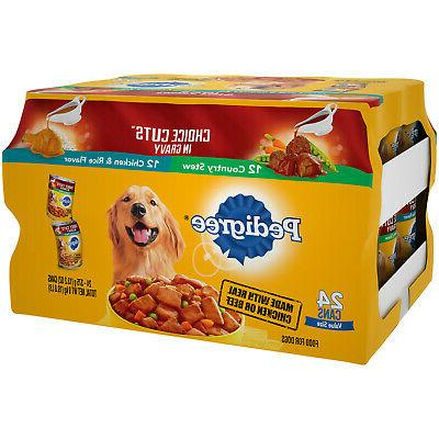 Adult Dog Food Variety Pack Stew and Chicken and Rice