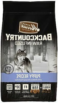 Merrick Backcountry Grain Free Raw Infused Puppy Dry Food, 2