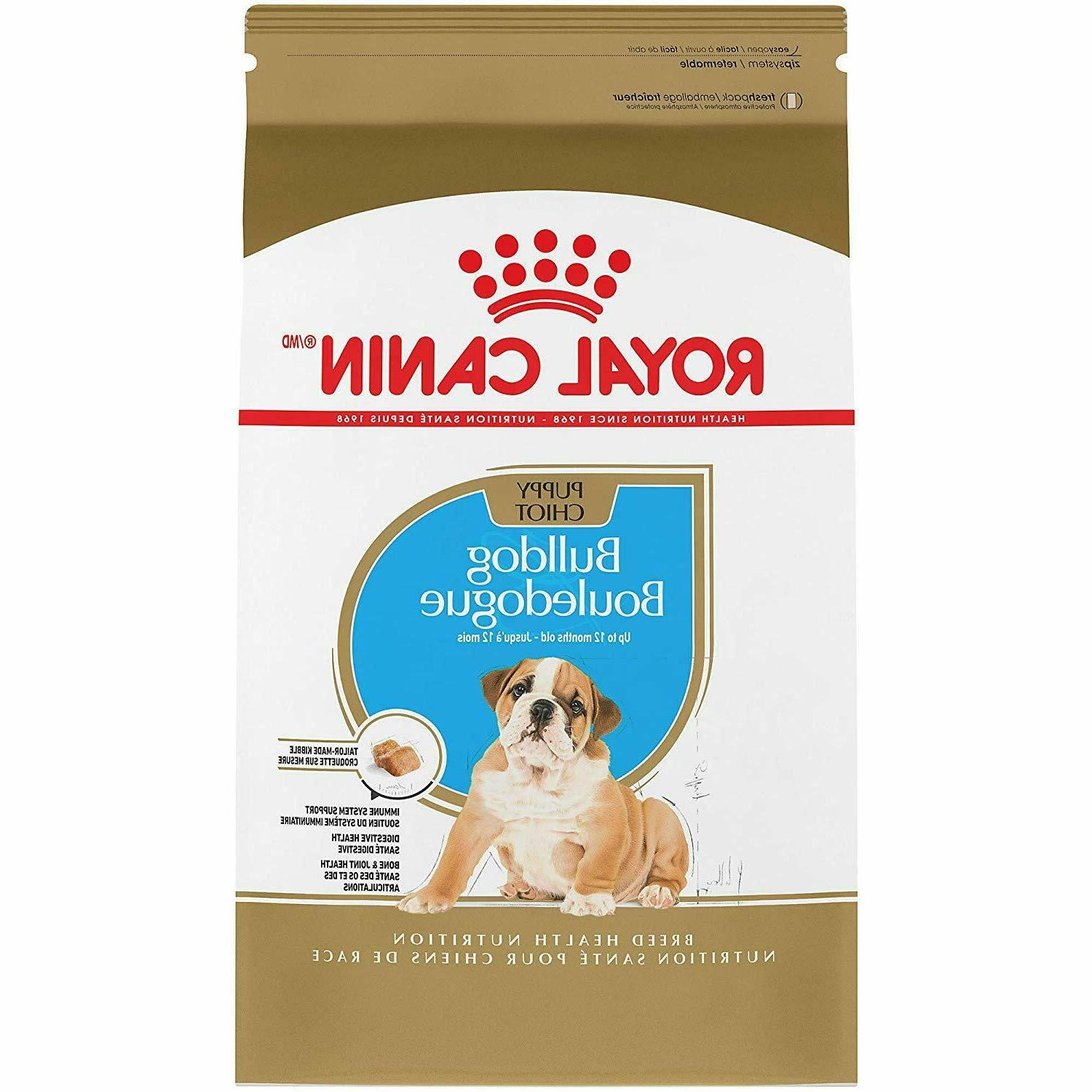breed health nutrition bulldog puppy dry dog