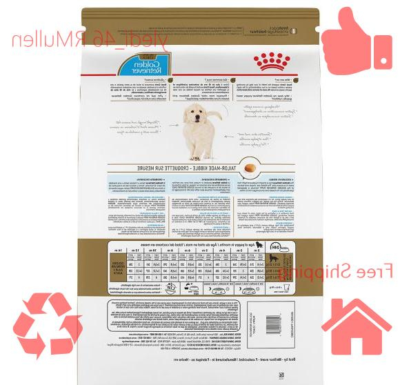 Royal Canin Breed Nutrition Golden Retriever Puppy Food 30lb FREESHIPPING