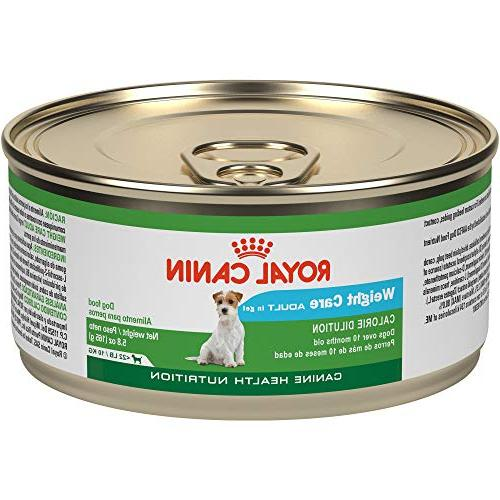 care canned dog food